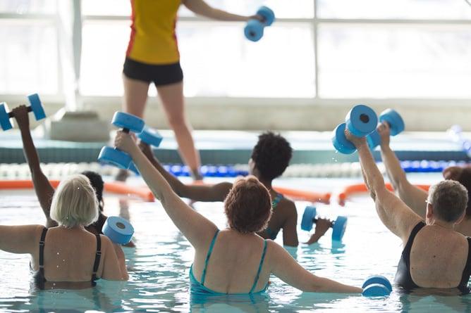 seniors-doing-water-aerobics