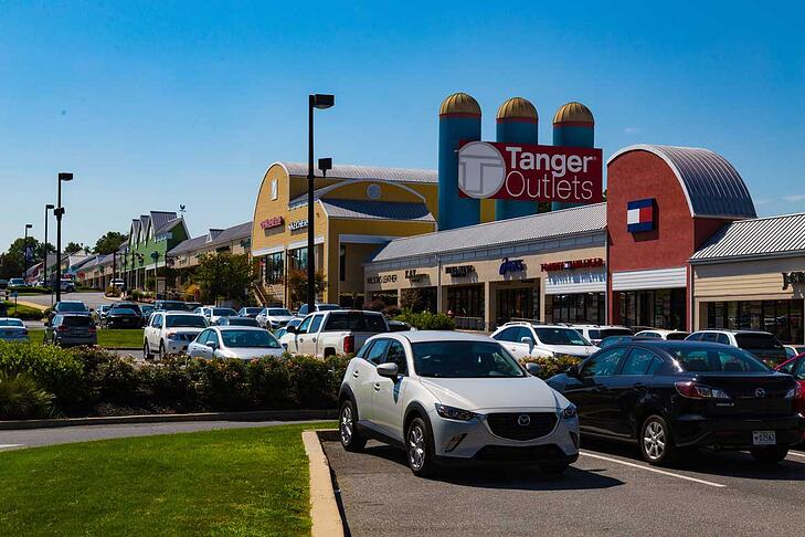 Lancaster Top Place to Retire- Tanger Outlets