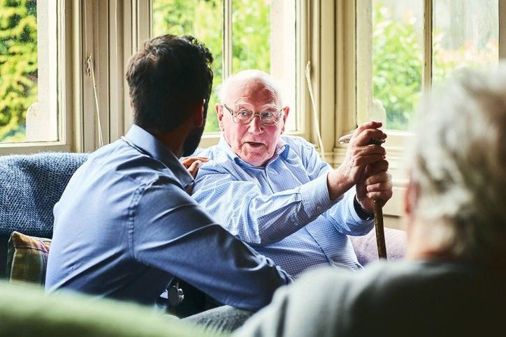 conversation with aging parent