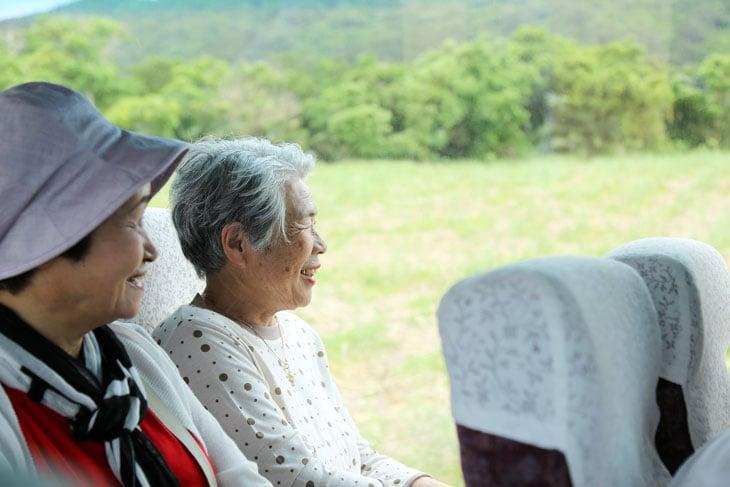 senior-woman-riding-bus