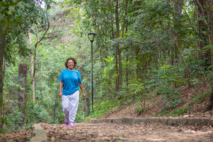 senior-woman-walking-outside