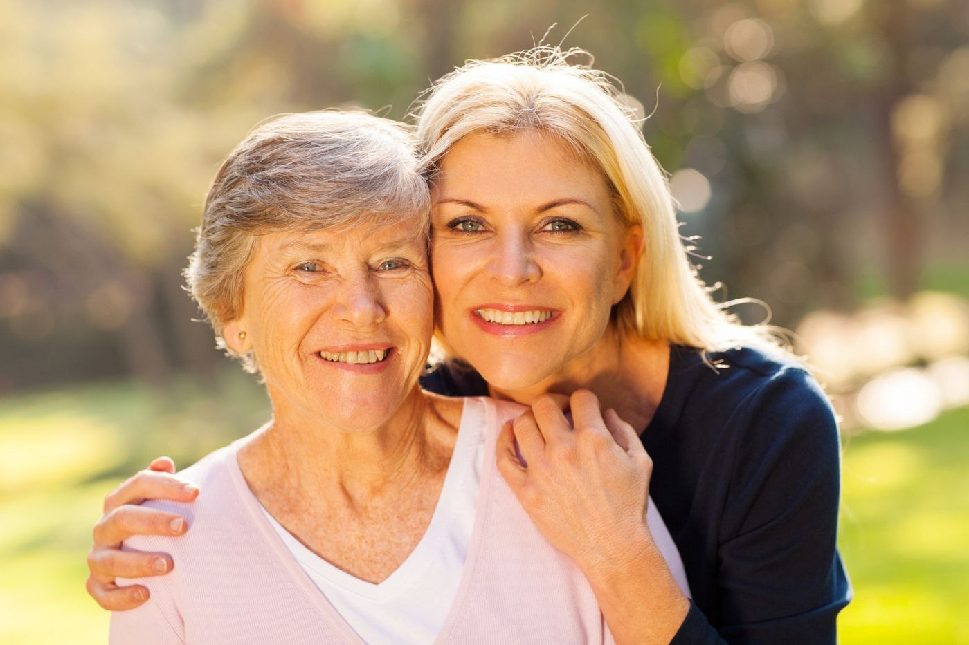 Signs to Consider Personal Care   Senior Mother with Daughter