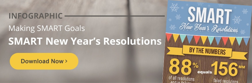 Infographic: Making SMART New Year Resolutions