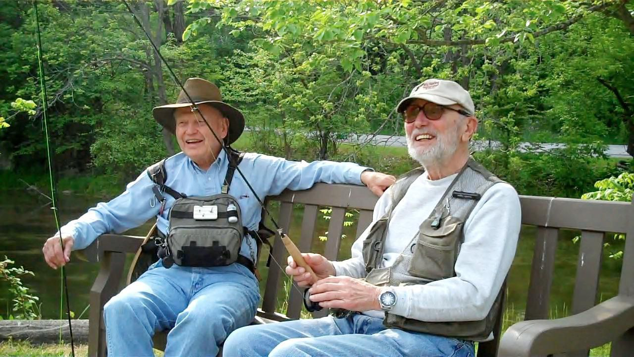 Trout Fishing Catching the Best for Seniors in Pennsylvania
