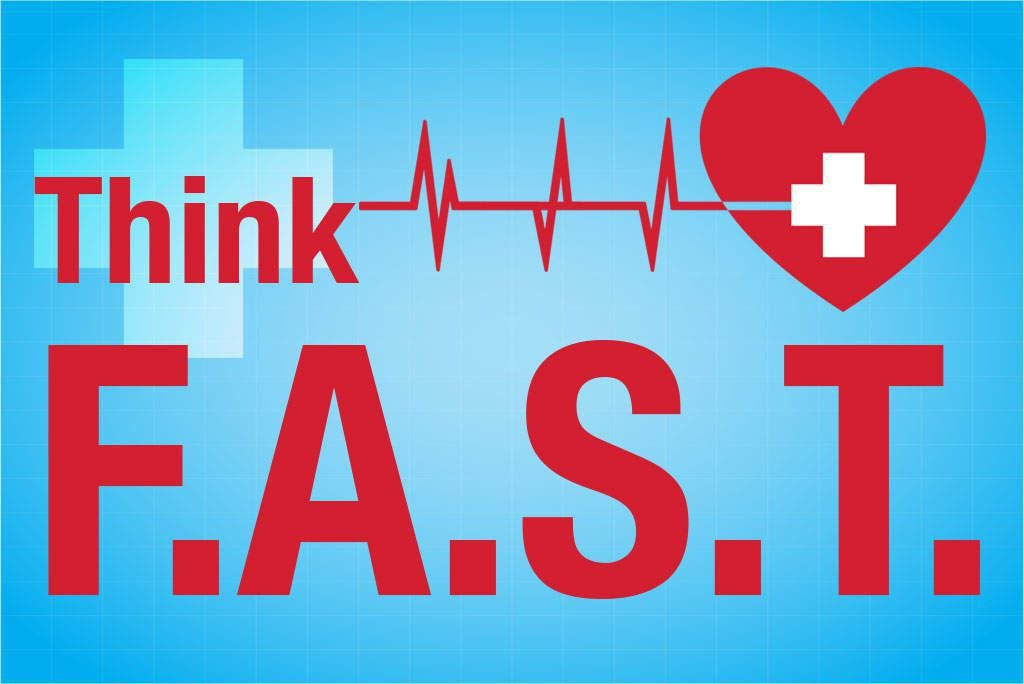 Think F.A.S.T: How to Tell if Someone You Know is Having a Stroke [Health Infographic]