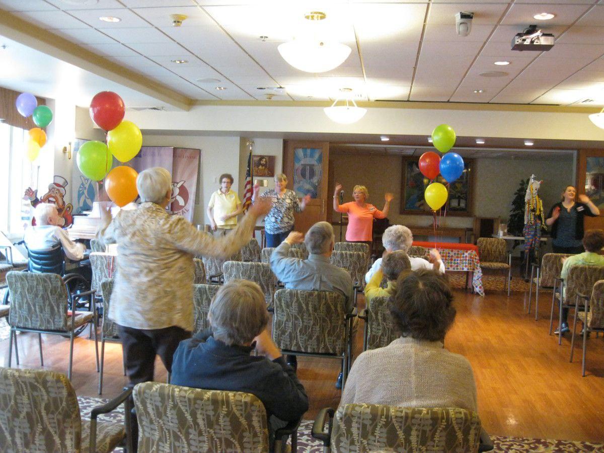 Grandma Brings the Laughs at Humorcon at Kirkland Village