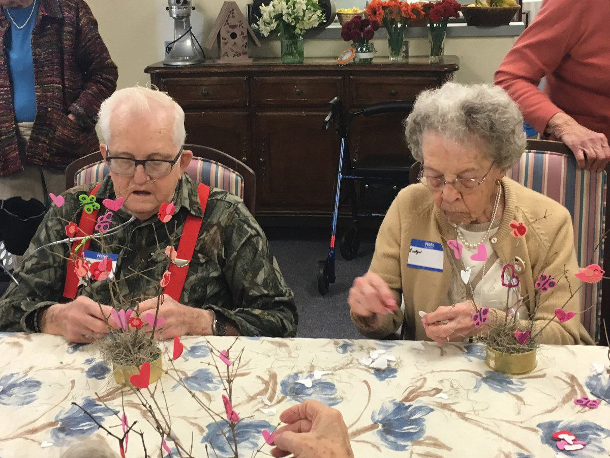 Caring and Sharing: Resident Led Initiatives